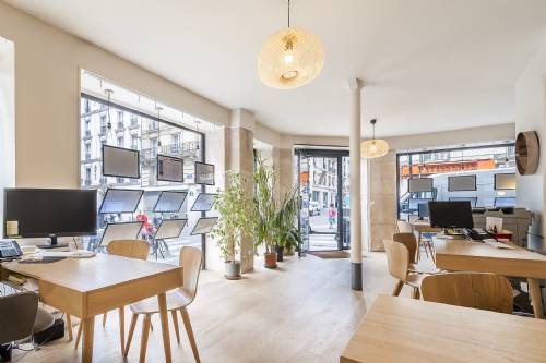 Immobilier à PARIS 17 - Agence immobiliere CONNEXION Guy Môquet