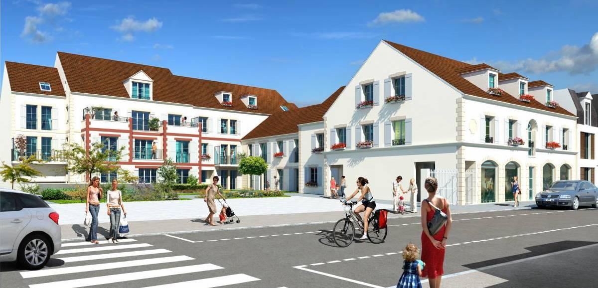 Vente immobilier neuf 60260 LAMORLAYE dans l'Oise