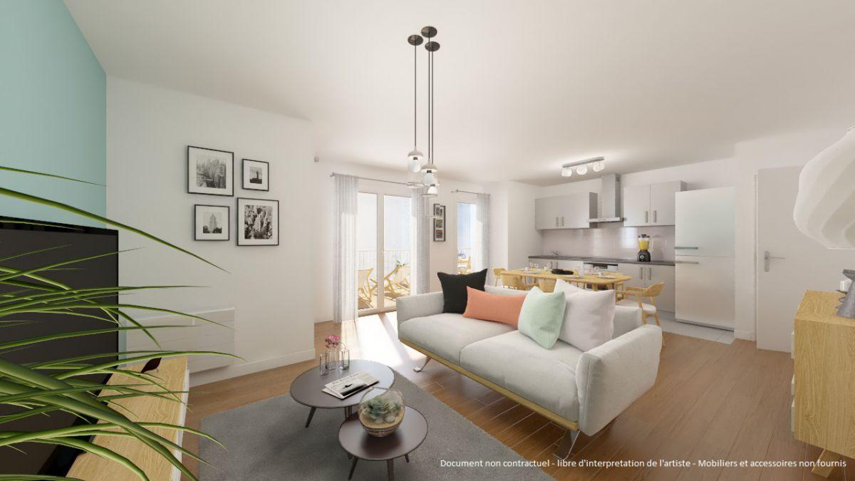 Vente immobilier neuf 77550 Moissy-Cramayel en Seine-et-Marne
