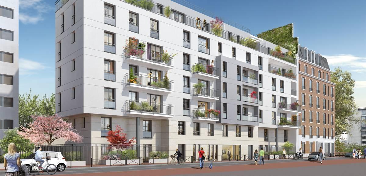 Vente immobilier neuf 92120 MONTROUGE dans les Hauts de Seine