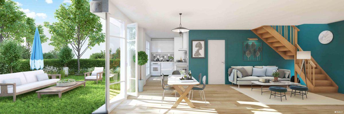 Vente immobilier neuf 77127 Lieusaint en Seine-et-Marne