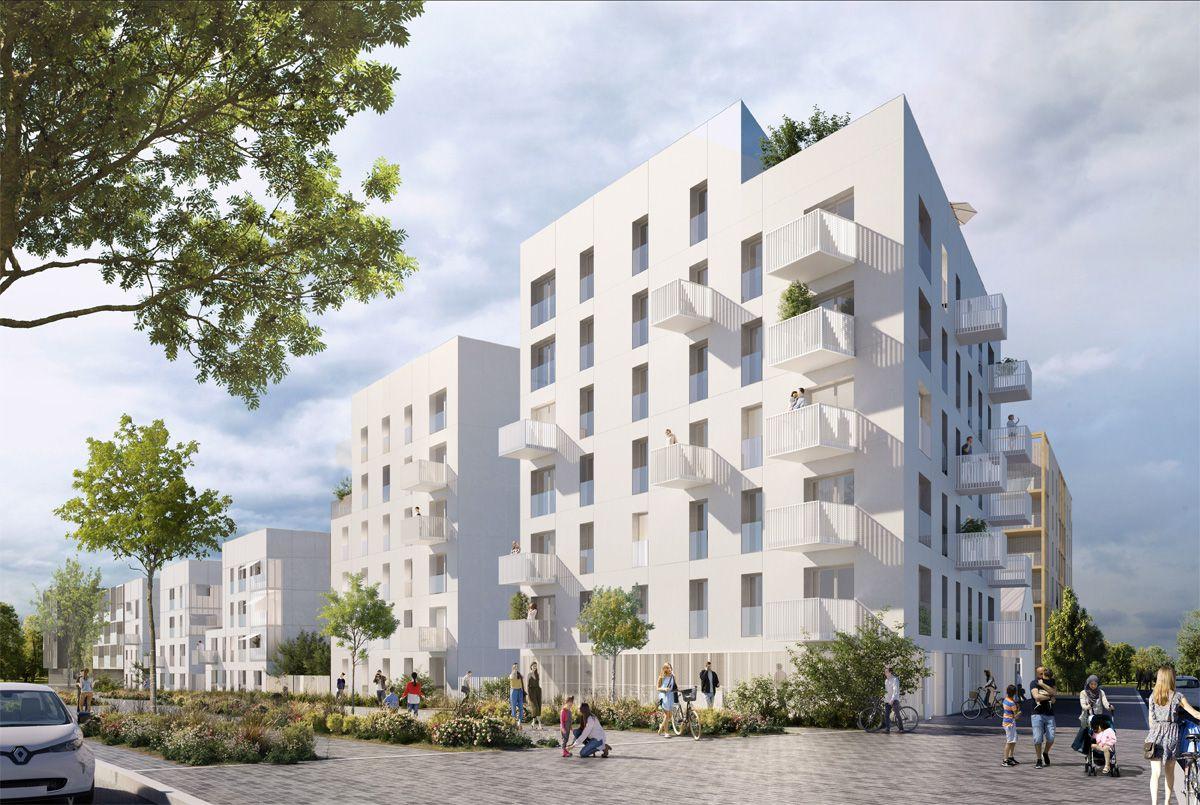 Programme mmobilier neuf 93240 STAINS en Seine Saint Denis
